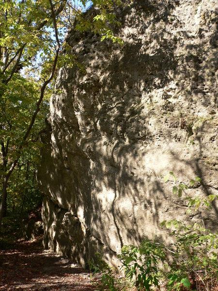 Rock Climbing Photo: start of Ethos