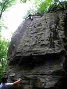 Rock Climbing Photo: Swiss Cheese!