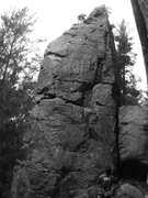 Rock Climbing Photo: easy peasy