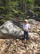 Rock Climbing Photo: MacKenzie, 2 1/2