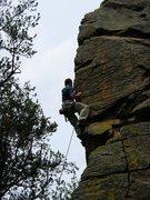 Rock Climbing Photo: Seth in early 2004.