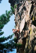 Rock Climbing Photo: Unknown climber in July 2005.
