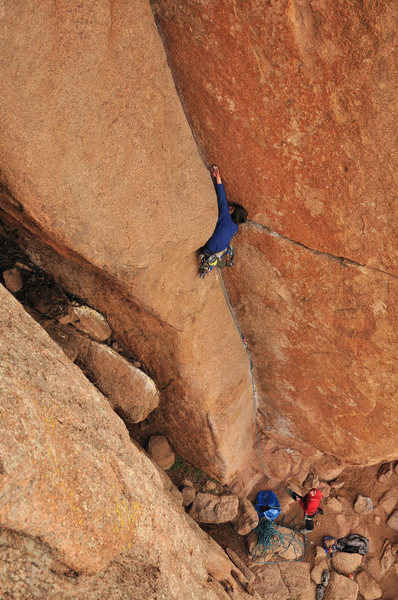 Rock Climbing Photo: Great jams.
