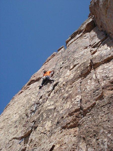 A great climb.