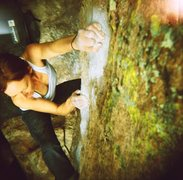 Rock Climbing Photo: From a different angle... Holga 120N, Fuji 400, cr...