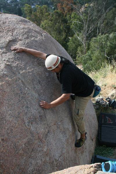 Rock Climbing Photo: Albert  4-24-10