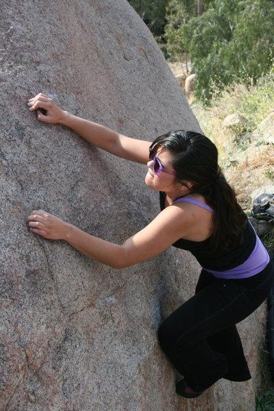 Rock Climbing Photo: Alberta  4-24-10