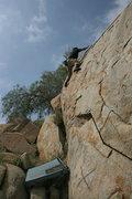 Rock Climbing Photo: Albert on Joe Browns Helmet.  4-24-10