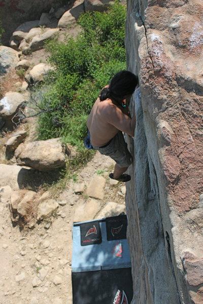 Rock Climbing Photo: 4-25-10