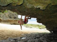 Rock Climbing Photo: Bouldering Okinawa, Japan