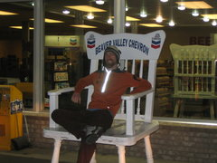 Rock Climbing Photo: Matt. Rocking chair. Utah. Dude..get in the car!