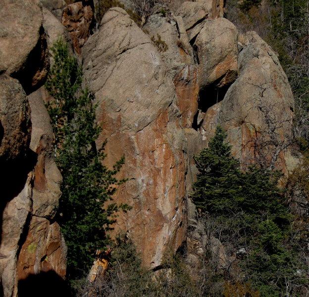 Rock Climbing Photo: Lunch Box Rock