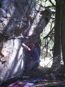 Rock Climbing Photo: Quinn on Misfit