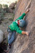 Rock Climbing Photo: Cory focusing on his feet
