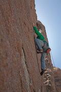 Rock Climbing Photo: Pop!