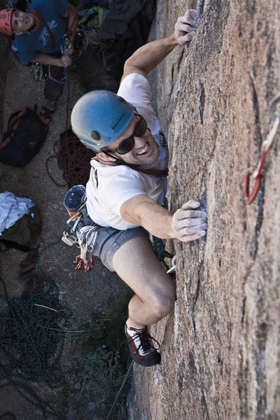 5.10a route on Sunday Matinee Wall