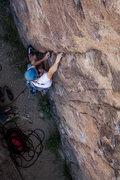 Rock Climbing Photo: Cory on a 5.9 at the Sunday Matinee Wall