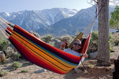 Rock Climbing Photo: Relaxing in the Tuttle Creek Campground after a fu...