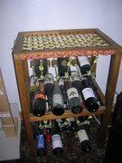 "Rock Climbing Photo: The ""Climber's"" wine rack... Ok, so I li..."