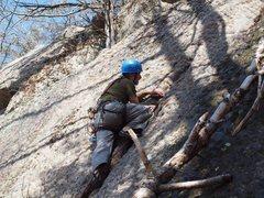 Rock Climbing Photo: FA of Hydrophobia.