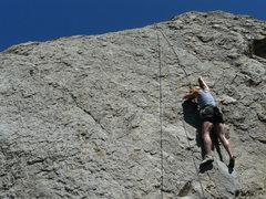 Rock Climbing Photo: Rhesa Ashbacher at the N. Shore Boulders