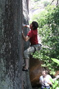 Rock Climbing Photo: Climbing High Octane