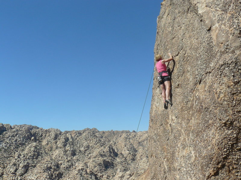 Rock Climbing Photo: Rhesa Ashbacher on The Chick Magnet