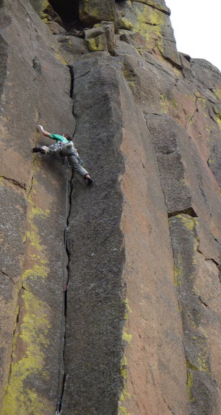 Rock Climbing Photo: Scott on Bushwacker