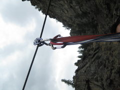 Rock Climbing Photo: pully on the cable