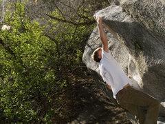 Rock Climbing Photo: Double Dyno