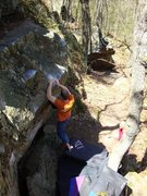 Rock Climbing Photo: Repeating Highly Executed, April '10.  So fun.  Ph...