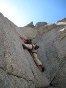 Rock Climbing Photo: The usual run of the mill climbing butt shot. Half...