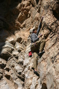 Rock Climbing Photo: Ryan proving he doesn't need a travel agent as he ...