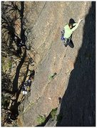 Rock Climbing Photo: Stehpanie on Hallowed Ground, 5.9, ***  Excellent ...