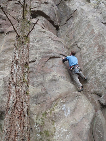 Rock Climbing Photo: Judging by the description, I think this is Ripper...