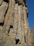 Rock Climbing Photo: Leading Titus.