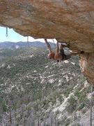 Rock Climbing Photo: JB on Chain Gang.