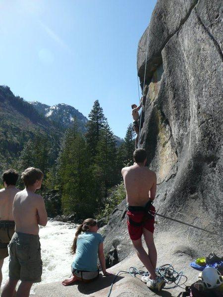 Rock Climbing Photo: Annies Climax, 5.10d