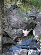 Rock Climbing Photo: The Prow.  Start...  John Sweatpants.