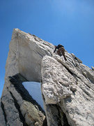 Rock Climbing Photo: J on the fin