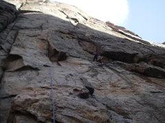 Rock Climbing Photo: Stu feeling casual.