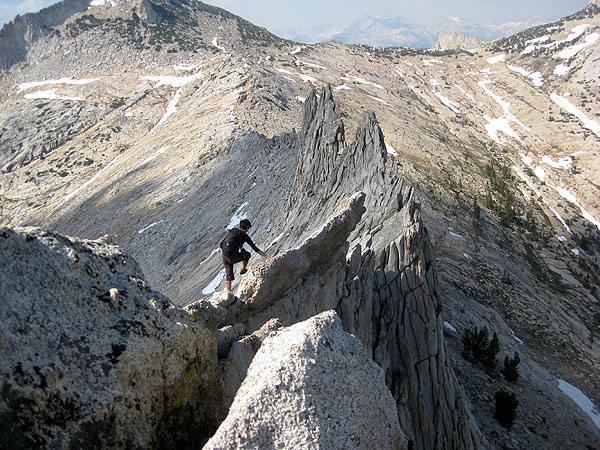 Rock Climbing Photo: the full traverse