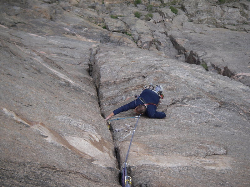 "Rock Climbing Photo: Like grandma said, ""You had better get back i..."