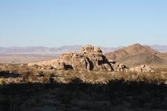 Rock Climbing Photo: Morbid Mound, Joshua Tree NP