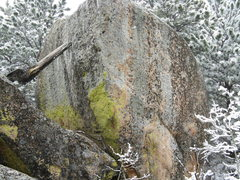 Rock Climbing Photo: Granite boulders on top of Spearfish Canyon