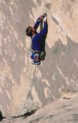 Rock Climbing Photo: Tony Moser leading Alice in Wonderjam