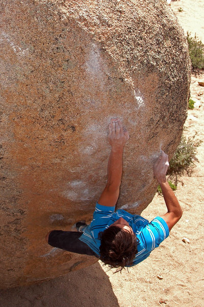 Rock Climbing Photo: Andrew Thomas on 'Soul Slinger'