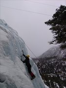 Rock Climbing Photo: Nearing the top of A&W's Whipper.