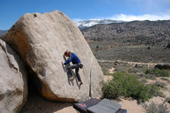 Rock Climbing Photo: Jeremy Freeman finding the good smears