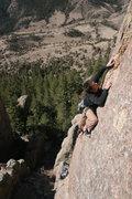 Rock Climbing Photo: Hot Zone. Great climb, great views!